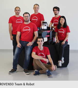 ROVENSO Team and robot